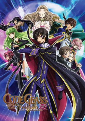 Cover Code Geass Lelouch of the Rebellion R2