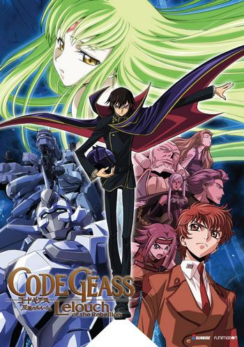Cover Code Geass Lelouch of the Rebellion
