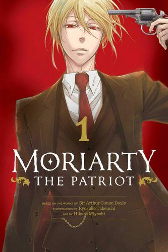 Cover Manga Moriarty the Patriot