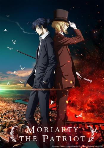 Cover Yuukoku no Moriarty 2nd Season