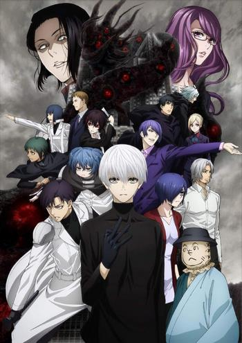 Cover Tokyo Ghoul re 2nd Season