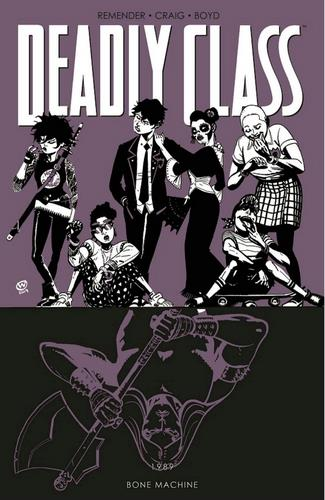 Cover Comic Deadly Class Volume 9