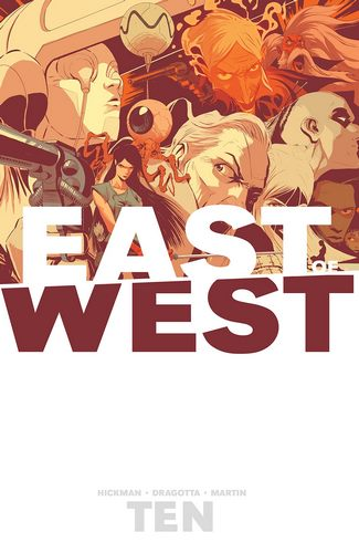 Cover Comic East of West Volume 10