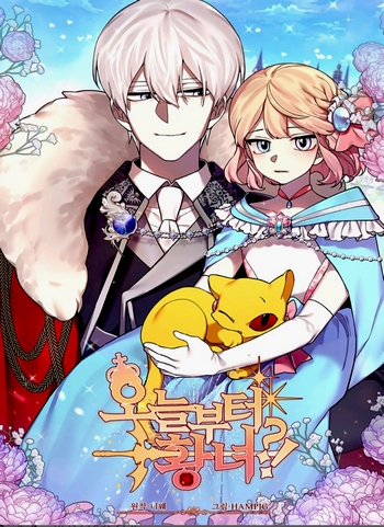 Cover Manhwa Starting From Today I'M A Princess